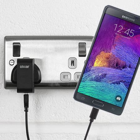 Samsung Note J1 olixar high power samsung galaxy note 4 charger mains
