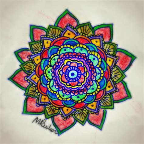 color designs mandala nurev蝓an bozalan