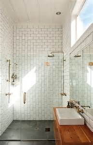 tiled baths subway tile patterns modern bathroom urbis magazine