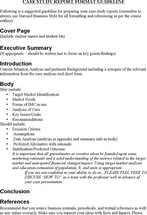 marketing case study template download free premium