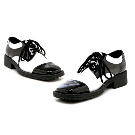 black and white shoes fred black white shoes buycostumes