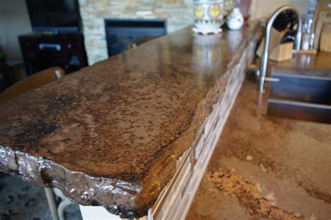 Kitchen Island Counter by The Rustic Countertop Rustic Kitchen Denver By All