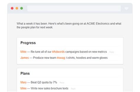 100 weekly status report template 7 8 project