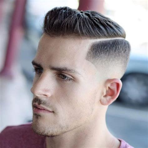 how to harden men hairstyles ivy league haircut a classy crew cut high skin fade