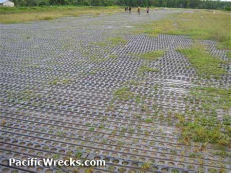 Portable Home pacific wrecks kikori airfield runway surfaced with