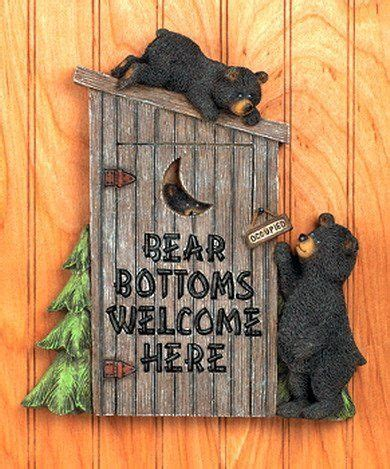 moose and bear bathroom decor best 25 outhouse decor ideas on pinterest rustic towel