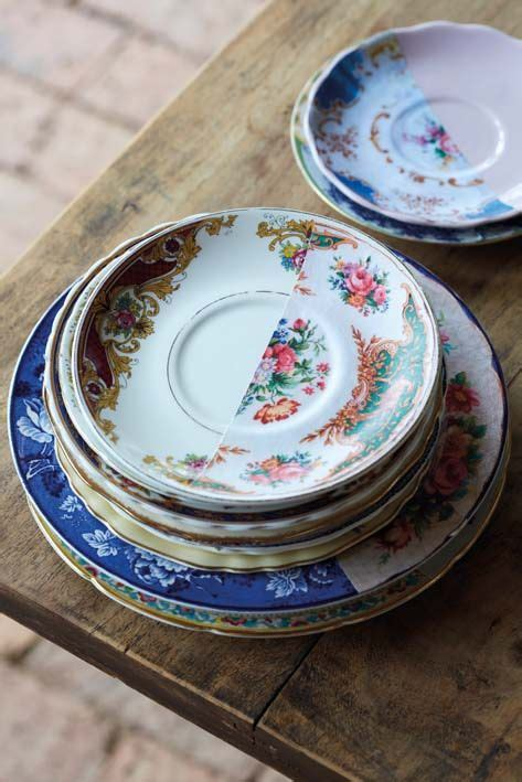 Decoupage Plates For Sale - vintage decoupage plates and retro on
