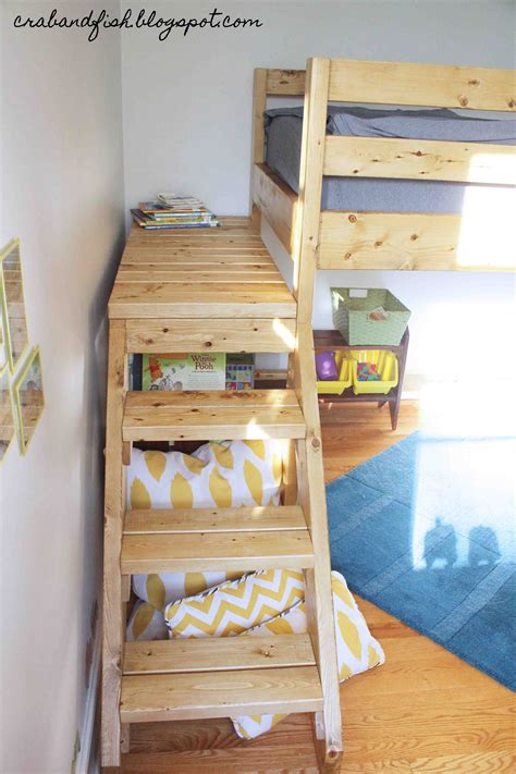 Toddler Bunk Beds Plans White Big Boy Toddler Loft Bed Diy Projects