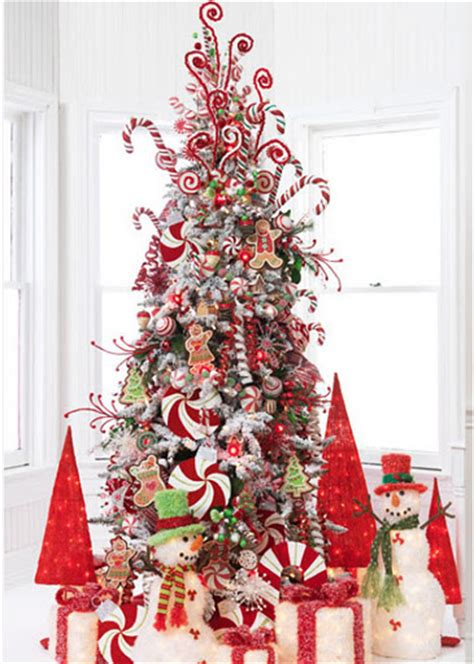 christmas decoration candy cane theme interior