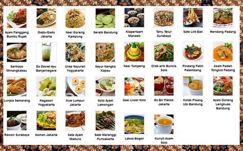 ikon kuliner indonesia  ragam citarasa wisata murah