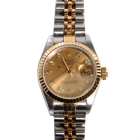 Rolex Oyster Perpetual Gold rolex 18k gold stainless steel 26mm