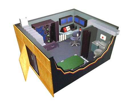 Bullet Proof Safe Room by Bullet Resistant Panic Safe Rooms Protective