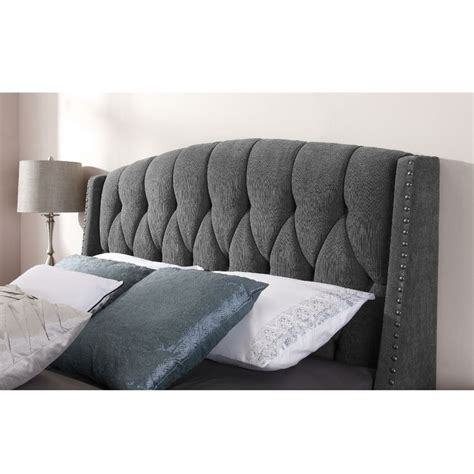 Grey Headboard King Dorel Signature Steel Grey Headboard Available In And King Size Buy It
