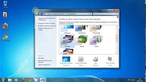 windows 7 bureau disparu cours informatique d 233 butant partie 1 le bureau windows