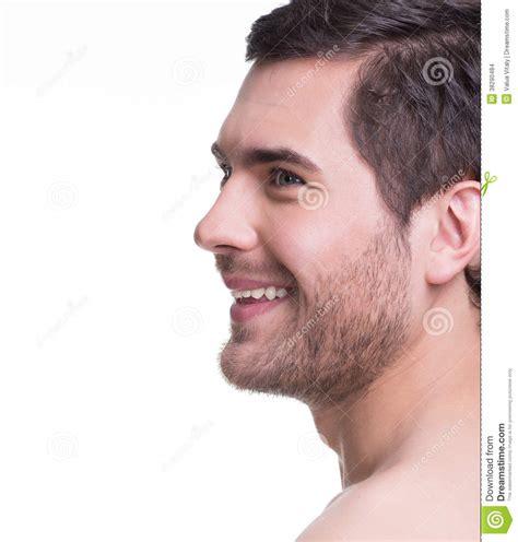 fotos para perfil varon portrait de profil de jeune homme beau images stock