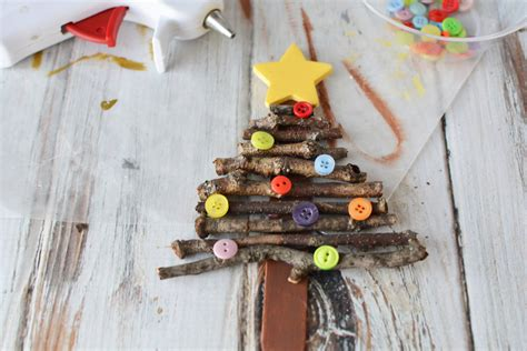 popsicle stick christmas tree ornament