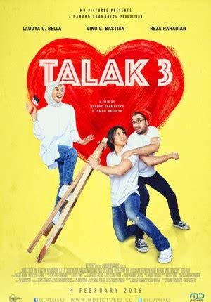 web film komedi indonesia talak 3 cinema 21