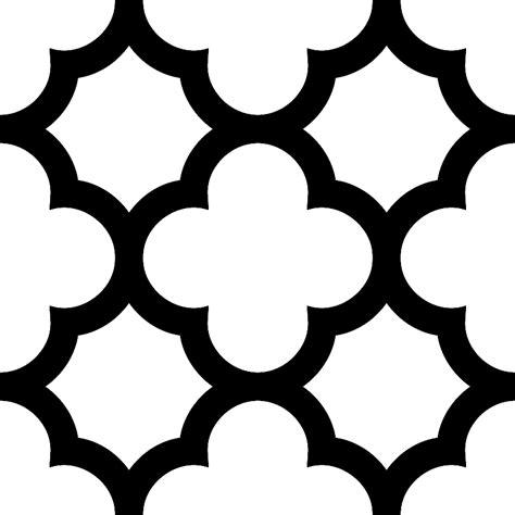 printable quatrefoil template quatrefoil stencil clipart best