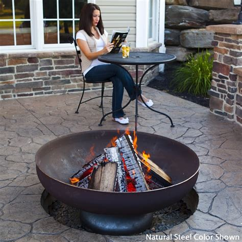 diy pit metal bowl 62 awesome outdoor bowls to add a cozy touch to your