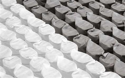 materasso a molle indipendenti insacchettate singolarmente materasso con memoria di forma archives letto e materasso