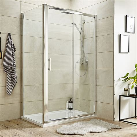 Shower Doors And Trays Premier 1500 X 900mm Sliding Shower Door Enclosure Tray Waste