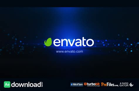 intro templates for after effects free download logo intro elegance flare black videohive project free