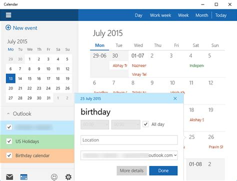 Calendar App For Windows 10 How To Use Windows 10 Calendar App