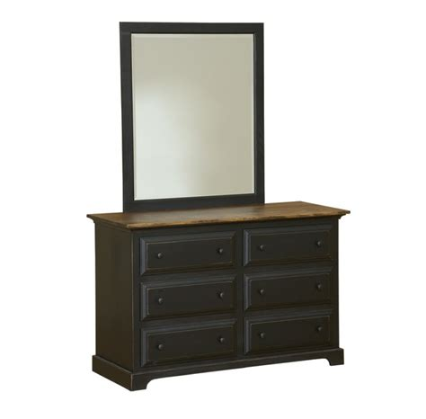 6 drawer dresser with mirror carriage house furnishings