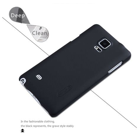Nillkin Frosted Samsung Galaxy Note 4 Black nillkin frosted shield for samsung galaxy note 4 black jakartanotebook