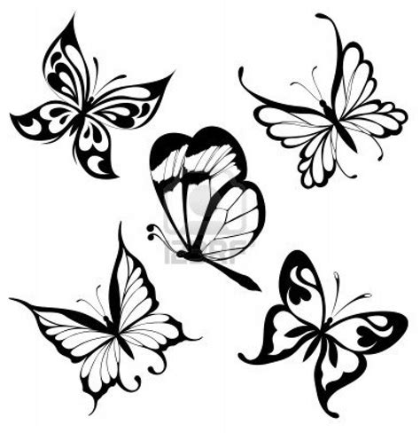 tattoo black and white designs 39 butterfly ideas designs for picsmine
