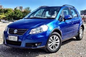 Blue Suzuki Suzuki Sx4 Review And Photos