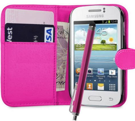 Casing Hp Samsung Galaxy S6310 galaxy s6310 wallet leather