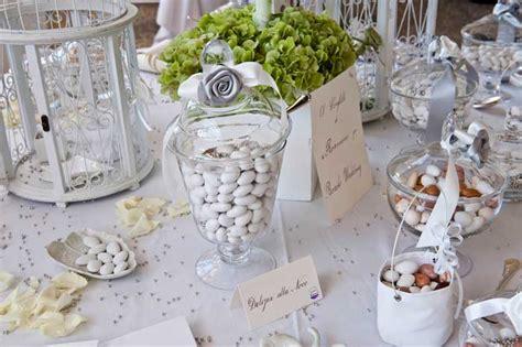 tavolo confetti matrimonio i confetti