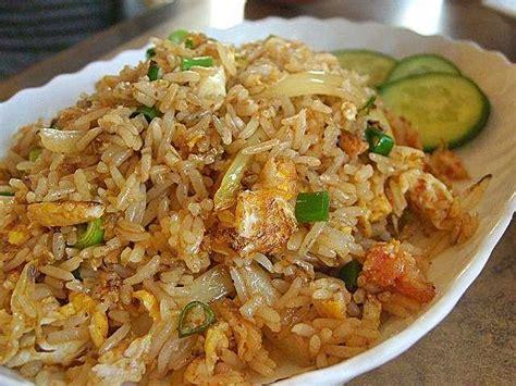 cuisine thailandaise recette la recette du riz frit tha 239 landais le khao pat ข าวผ ด