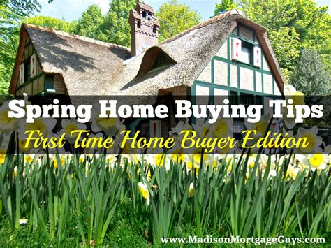 Spring Home Tips | spring home buying tips for first time home buyers