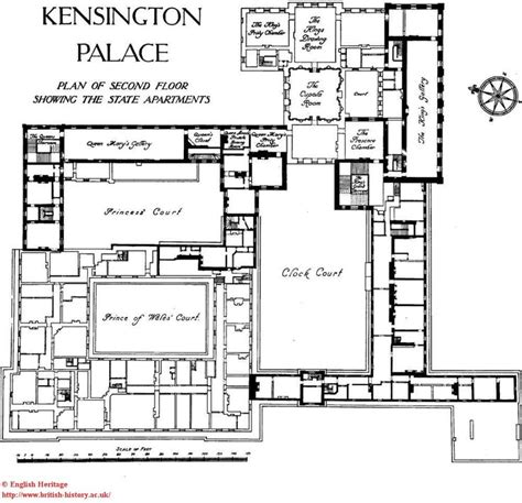 kensington palace 1a floor plan kensington palace interior apartment 1a kensington palace