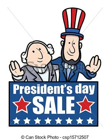 Presidents Of The United States by Vector Clipart Of Presidents Day Banner Cartoon