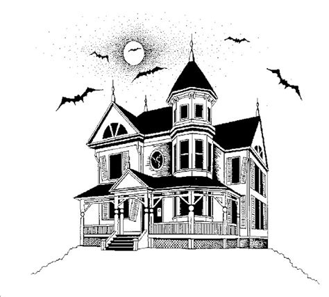 in my s house drawings by wayne t sorenson volume 1 books haunted house pictures cliparts co