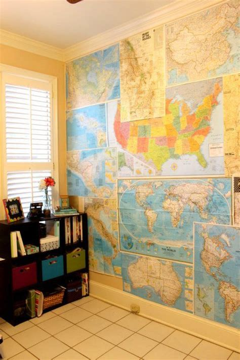 wall map for room 25 best ideas about wall maps on minimalist house map and map wall decor