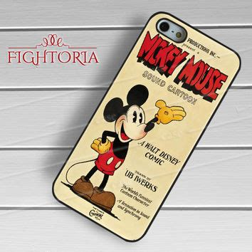 Vintage Disney Mickey Mouse Y0987 Iphone 5 5s Se Casing Premium best mickey mouse poster products on wanelo