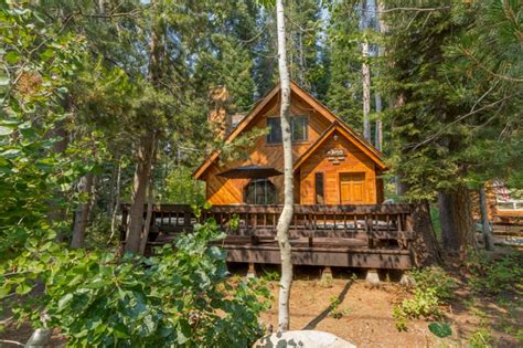 a cabin one block from donner lake vrbo