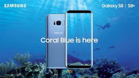 Harga Pasaran Samsung A6 galaxy s8 dalam pilihan warna coral blue kini di