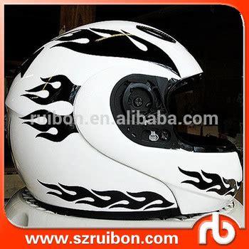 custom print kiss die cut motorcycle helmet stickervinyl