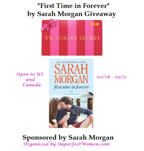 Victoria Secret Gift Card Giveaway - sarah morgan novel 50 victoria secret gift card giveaway ends 03 11 15 it s