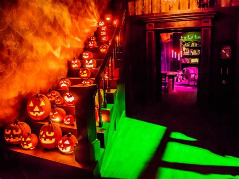 saturday serial monster house halloween horror for kids amusement parks go haunted for halloween haunted