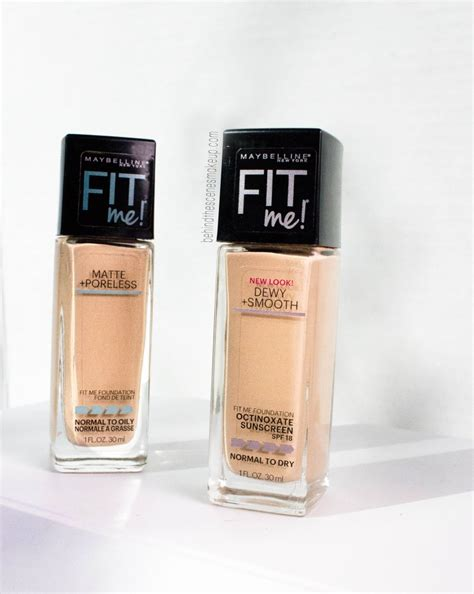 Maybelline Fit Me maybelline fit me foundation review dewy smooth matte