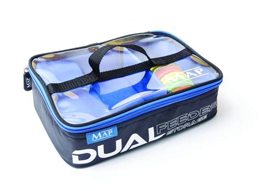Feeder Bag map dual feeder bag luggage bobco tackle leeds