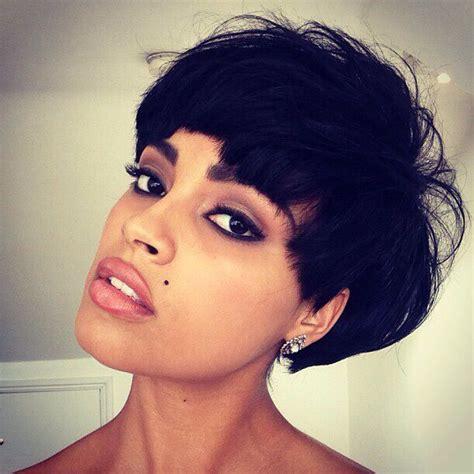 black girl bolla hair style 17 best ideas about mushroom cut hairstyle on pinterest