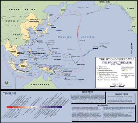 pacific war map ww ii maps