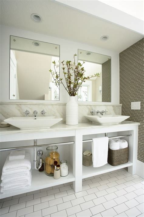 Double Sink Bathroom Decorating Ideas | double sink vanity design ideas modern bathroom